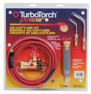 Turbotorch X 3b 0386 0335 Torch Kit For B Tank Air Acetylene