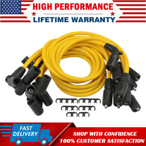 Spark Plug Wire For Gmc Chevy C1500 C2500 C3500 5 7l 5 0l V8 1996 1997 1998 1999
