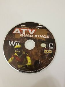 ATV: Quad Kings (Nintendo Wii  2009) Disc Only Tested and Works