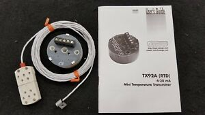 Omega Engineering Tx92a 2 Tx92a2 Rtd 830 Rtd Sensor 12 Foot Cable Length