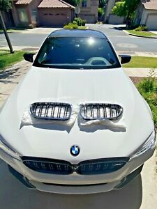 M5 F90 Chrome Kidney Grill Perfect Condition Original Bmw Factory Parts