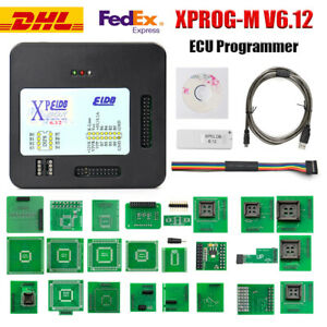 Xprog M V6 12 Ecu Programmer With Usb Dongle Adapters Ecu Chip Tuning Tool