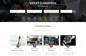 Premium Local Classified Ads Website With Advanced Search Filters Free Hosting