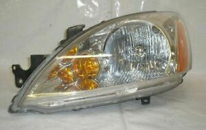 2006 Mitsubishi Lancer 4dr 2 0l At Left Headlight