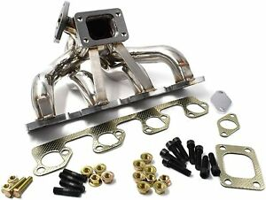 Turbo Manifold T3 Center Mount For 2 3l Ford Mustang Svo Thunderbird Turbo Coupe
