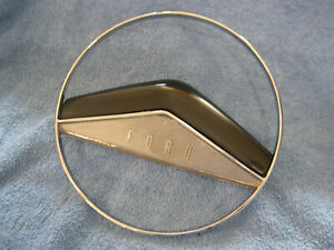 1951 Ford Full Horn Ring Nos Mint Chrome Victoria Custom Convertible 1a 3624a