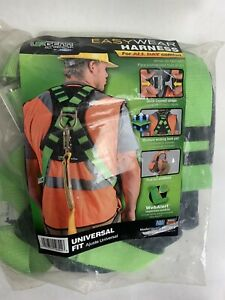 Upgear Safety Harness For Fall Protection Quick Snap Couplers Brand New