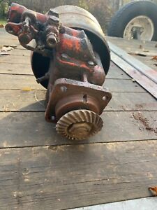 Case Tractor Belt Pulley Assembly With Hydraulic Pump valve Includes Pulley
