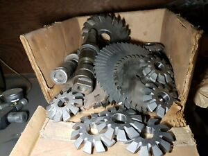 Gear Cutting Tools And 40 Tapper Slotting Tool Holder
