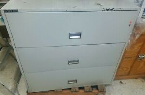 Schwab 5000 3 Drawer Lateral File Fireproof 43 x 20 5 x 41 h