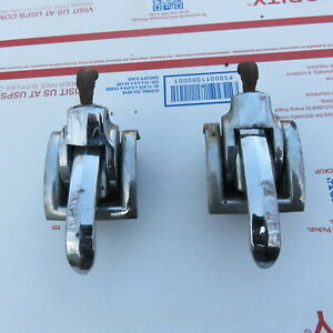 1957 59 Plymouth Chrysler Dodge Convertible Header Windshield Clamps Nos Fit