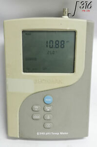 17244 Beckman 340ph Temperature Meter Mv Meter 511210