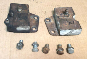 1966 Other Ford Galaxie 500 390 Engine Motor Mounts L r W bolts