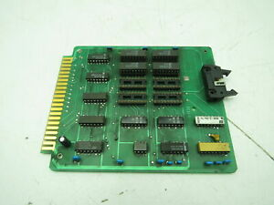 Cincinnati Pcb 822283 Circuit Board Card 822284