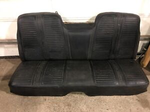 1967 67 Plymouth Gtx Satellite Rear Seat Mopar