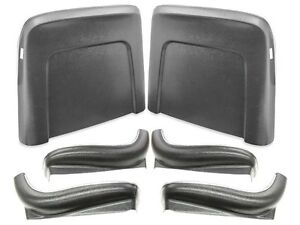1967 Chevelle El Camino Ss 396 Ss Malibu Seat Backs Black J 38106 in Stock