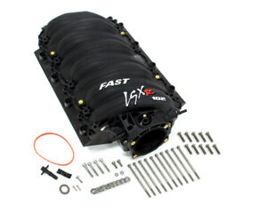 Fast Electronics Intake Manifold Ls3 Lsxr 102mm Black Finish 146102b