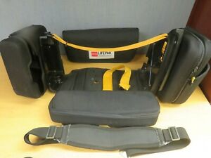 Medtronic Physio Control Lifepak 12 Carrying Case Storage Pouches Strap 16864