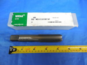 New Usa Made M20 X 2 5 Hs G D7 Bottoming Tap 4 Flute Greenfield Tap