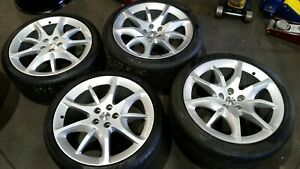 Set Of 4 Maserati Gran Turismo Wheels Tires 20 Used
