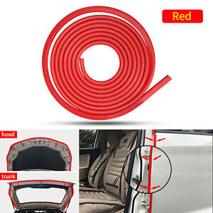 118 Red Car Door Edge Protector Trim Anti Scratch Protective Edge Rubber Strip
