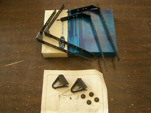 Nos Oem Ford 1949 1956 Universal Battery Hold Down Kit 1950 1951 1952 1953 1954