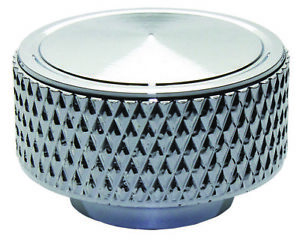 Knurled 1 4 20 Chrome Aluminum Air Cleaner Wing Nut Chevy Ford Mopar