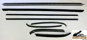 1971 1973 Impala 2 Door Sport Coupe Window Felt Beltline Weatherstrip Set 8pc