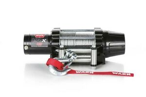 Warn 101045 Vrx 45 Power Sport Winch With 4500 Lb Capacity 50 Ft Steel Rope