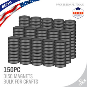 150 50 Pcs Strong Ceramic Industrial Magnets Diy Hobby Craft Round Disc