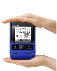 Label Printer Puqu Q20 Portable Bluetooth Thermal Make Rechargeable Battery