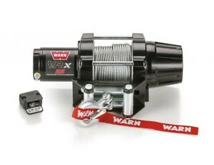 Warn 101025 Vrx 25 Powersports Winch W 2500 Lb Capacity And 50 Ft Steel Rope