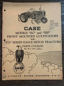 Case Models ec And eh Front Mounted Cultivators For va Series Eagle Hitch