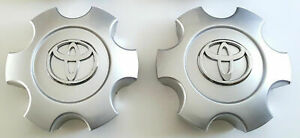 T69440 2x Sequoia Tundra 03 07 Wheel Rims Center Hub Caps 56069440 For Toyota