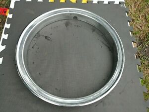16 Chevy Gmc Truck Dualie Oem Stainless Steel Trim Ring 1 Decent Used