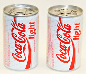 Coke Coca Cola Light 150 ML Cans from Holland Unopened - FREE SHIPPING