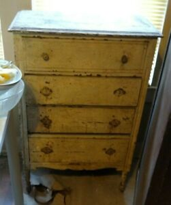 Shabby Chick Dresser Small 4 Drawer
