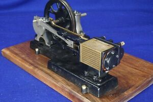 Antique Sipp 1 4 Hp Horizontal Steam Engine