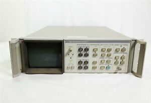 Hp 85662a Spectrum Analyzer Display Only Rack Mountable 7003