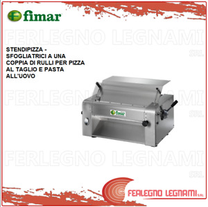 Dough Sheeters Pizza Roller To A Pair Of Rollers Fimar With Engine 3ph Si420
