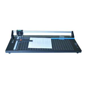 24 Rotary Paper Trimmer Portable Sharp Photo Paper Cutter Machine New