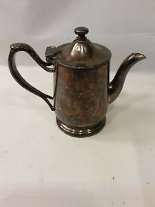 Victor S Co Silver Plate High Quality Tea Pot