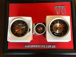 Ford Maverick Set Tachometer Speedometer Fuel Gauge Instruments Panel Cluster