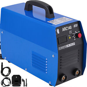 Arc Welder 140 Amp 110v Mma Stick Igbt Dc Inverter Welding Machine Digital