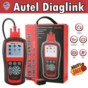 Autel Diaglink Car Diy Obd2 eobd Diagnostic Scan Tool Code Reader Oil Epb Reset