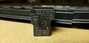Potter Brumfield T9as5d12 24 24vdc Form C Relay Qty 2 new
