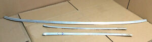 1971 1972 Other Ford Mustang Mach1 3 Piece Windshield Stainless Trim molding