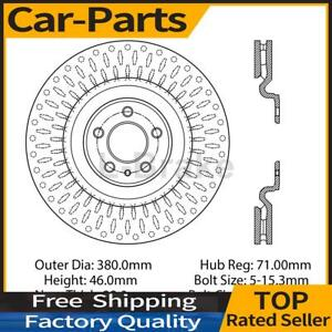 Fits Ford Mustang 2013 2014 1x Centric Parts Front Disc Brake Rotor