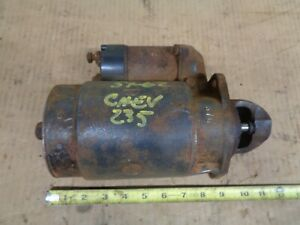 1957 1962 Chevy 235 Engine Starter Delco Remy 1107652 1959 1960 Car Truck Oem