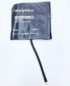 Lot Of 5 Welch Allyn Large Adult 12 Nibp Blood Pressure Cuffs 32 1 43 4 Cm